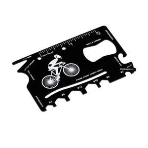 Multifunkčná karta na opravu bicykla v koženkovom puzdre Rex London Le Bicycle