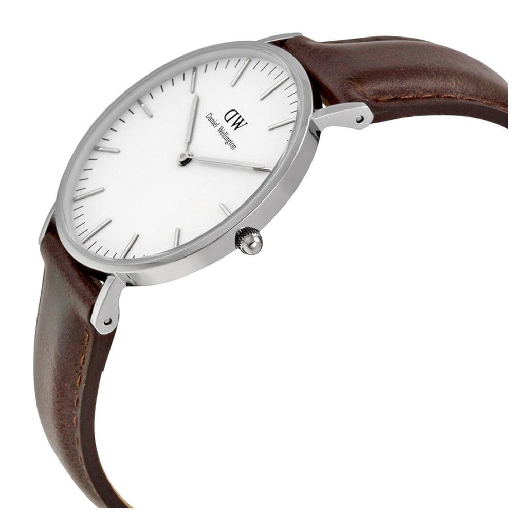 03f3e98fcc Dámske hodinky s koženým remienkom Daniel Wellington Falmouth ...