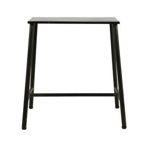 Čierna kovová stolička De Eekhoor Blast, výška48cm