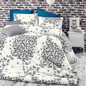 Obliečky s plachtou Butterfly Blue, 200x220cm