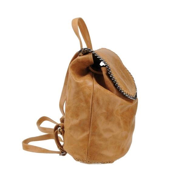 Kožený batoh Situla, hnedý