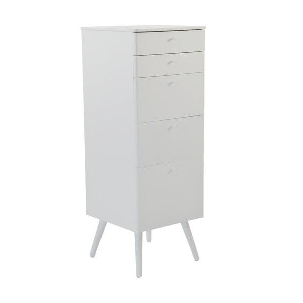 Kancelárske zásuvky Niles, 87x40cm, biele