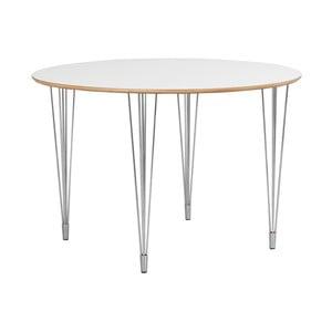 Biely jedálenský stôl Folke Alarik