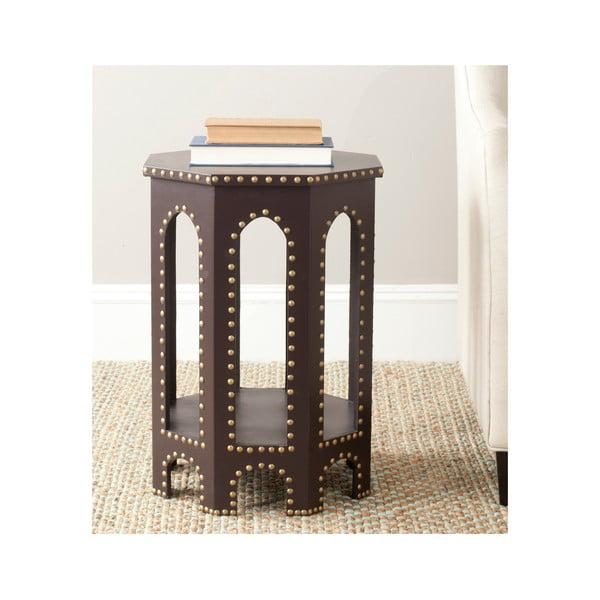Odkladací stolík Amala, sivý