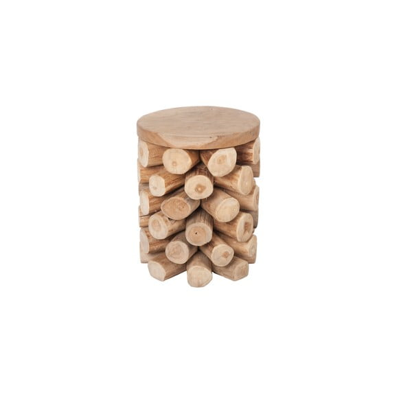 Stolík z teakového dreva  Dijk Natural Collections Ove