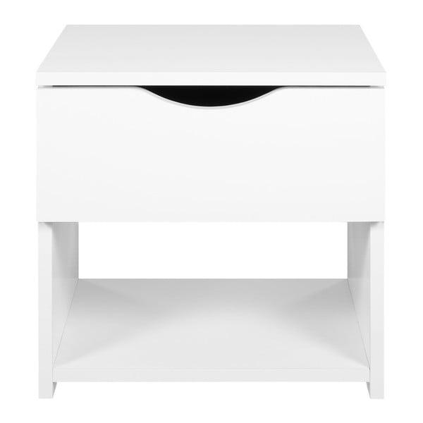Biely nočný stolík Artemob Letty