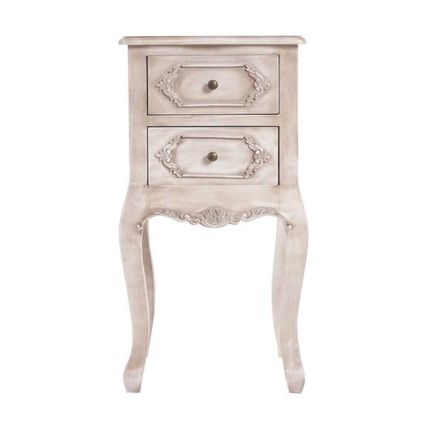 Nočný stolík Baroque Antique White