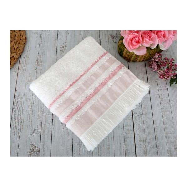 Ružová osuška Irya Home Spa, 70x130 cm
