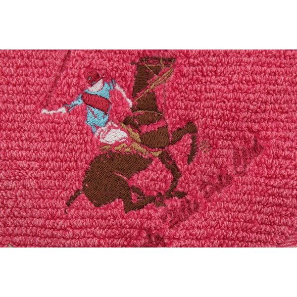 Bavlnený uterák BHPC s výšivkou 50x100 cm, ružový
