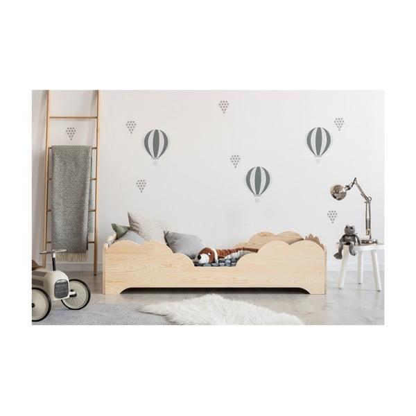 Detská posteľ z borovicového dreva Adeko BOX 10, 100×180 cm