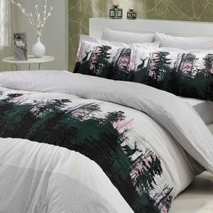 Obliečky s plachtou Tierra Grey, 160x220 cm