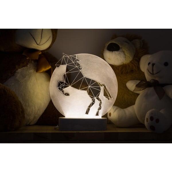 Náladové svetlo Horse Full Moon
