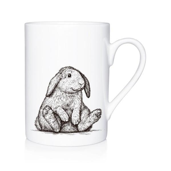 Porcelánový hrnček We Love Home Bunny, 300 ml