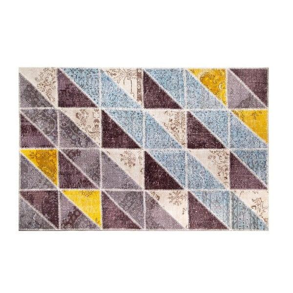 Vlnený koberec Allmode Sivas Multi II, 150x80 cm