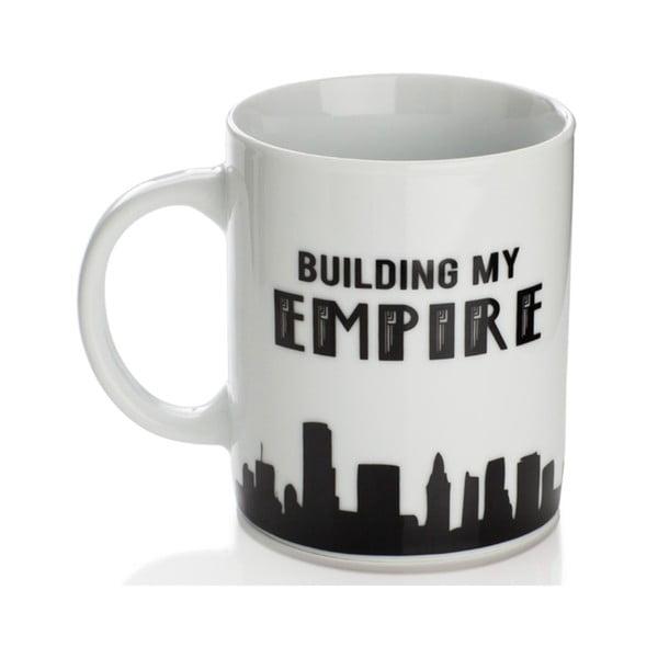 Porcelánový hrnček Sabichi Building My Empire, 325ml
