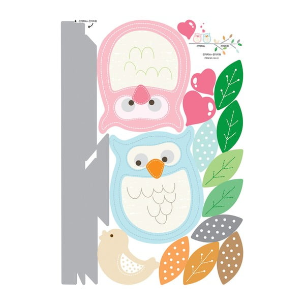 Samolepka Fanastick MaDéco Owls