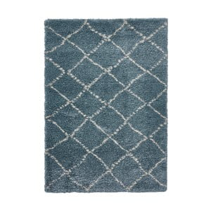Modro-krémový koberec Think Rugs Royal Nomadic Team & Cream, 160×230 cm
