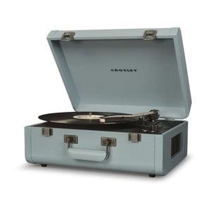 Svetlomodrý gramofón Crosley Portfolio Tourmaline