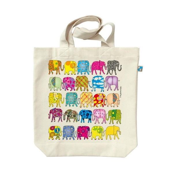 Plátenná taška Sloni