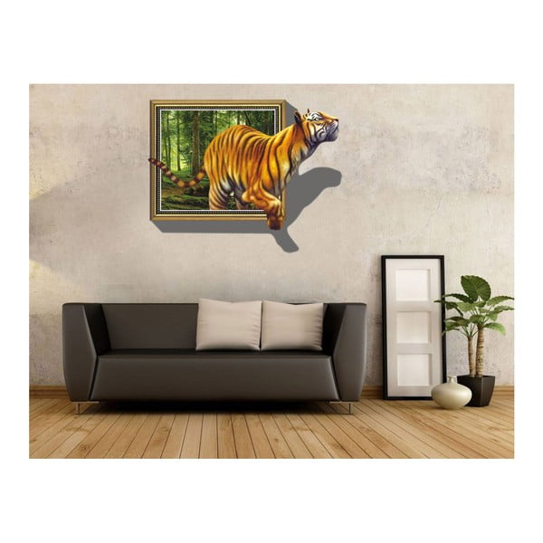 3D Samolepka Ambiance Tiger