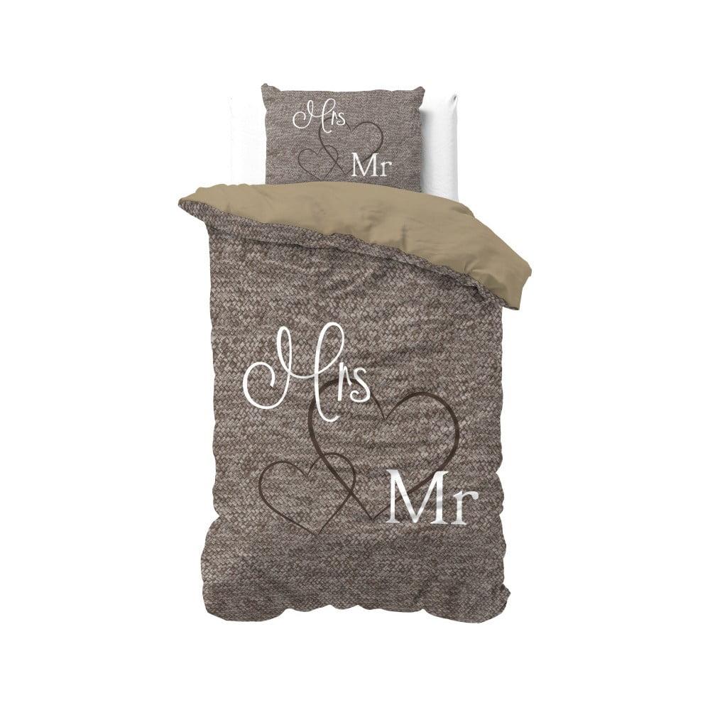 Bavlnené obliečky na jednolôžko Sleeptime Misses, 140 × 220 cm