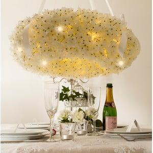 Svadobný veniec s LED svetielkami Hydrangea