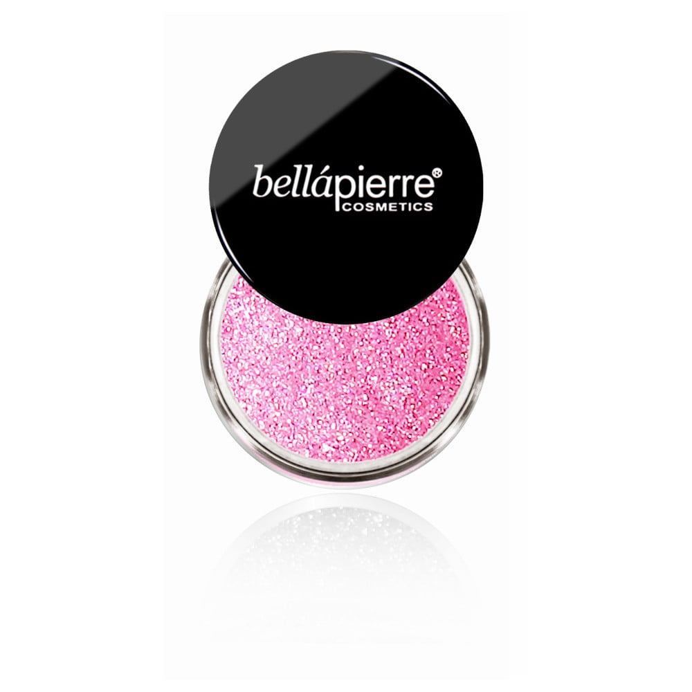 Trblietky na telo a oči Bellapierre Glitter Wild Pink