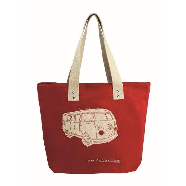 Taška Shopper Bus, červená