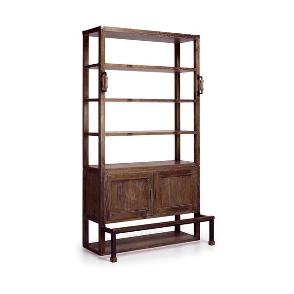 Knižnica z dreva mindi Moycor Industrial, 220 cm