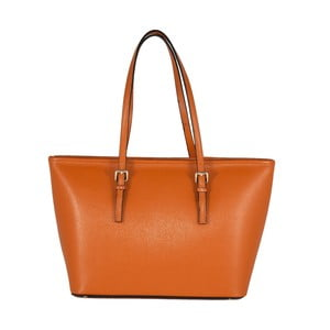 Kožená kabelka Andrea Cardone 2006 Orange