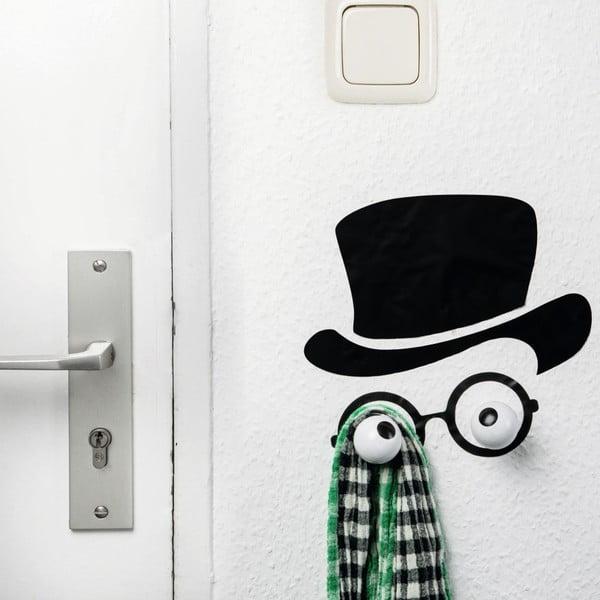 Dekoratívny háčik a samolepka na stenu Donkey Mister Hookly