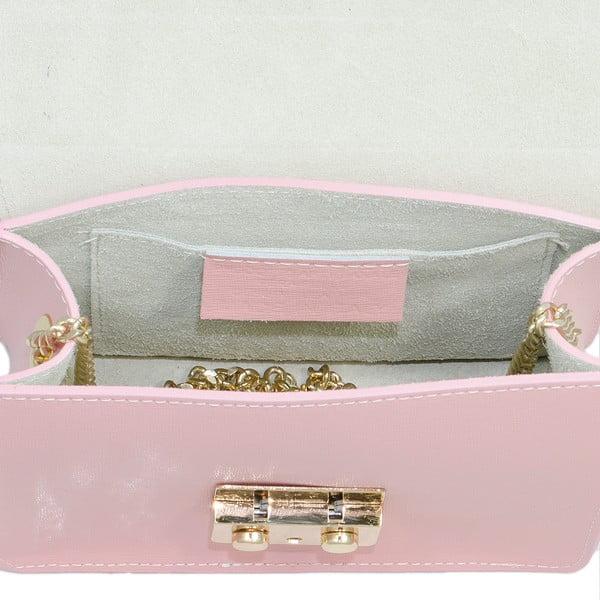 Kožená kabelka Markese 2416 Rose