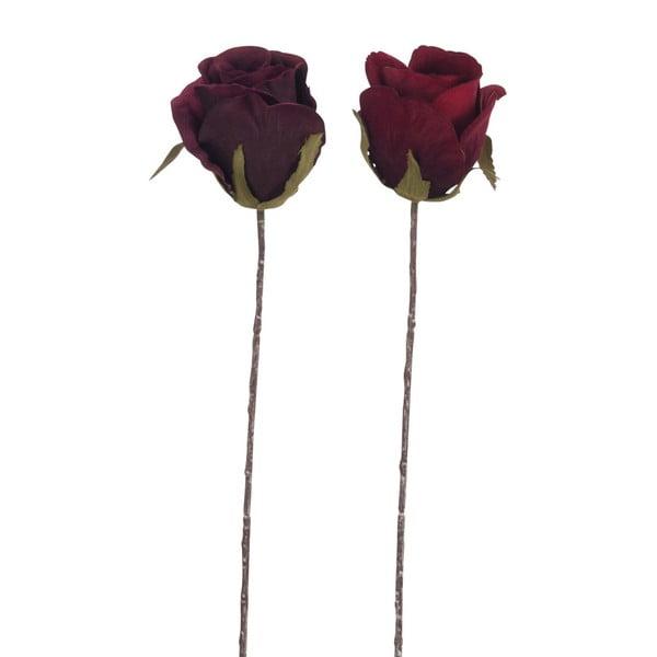 Sada dvoch kusov umelých ruží