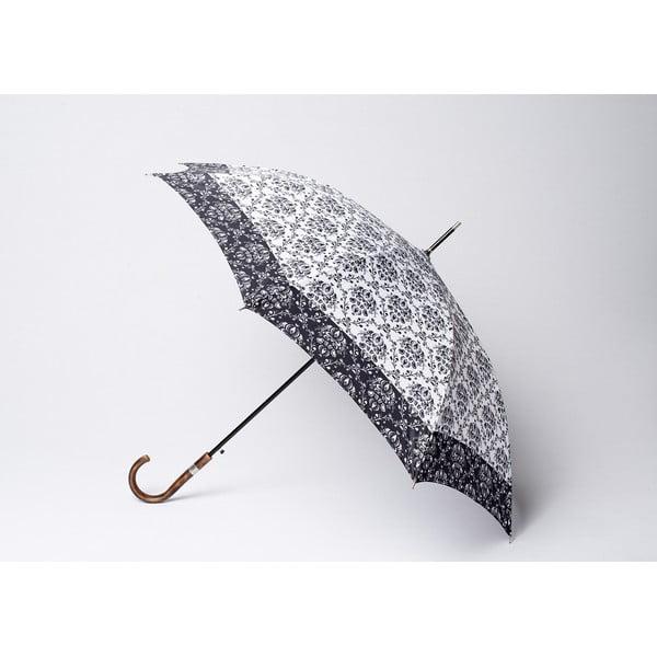 Dáždnik Damask, čierny