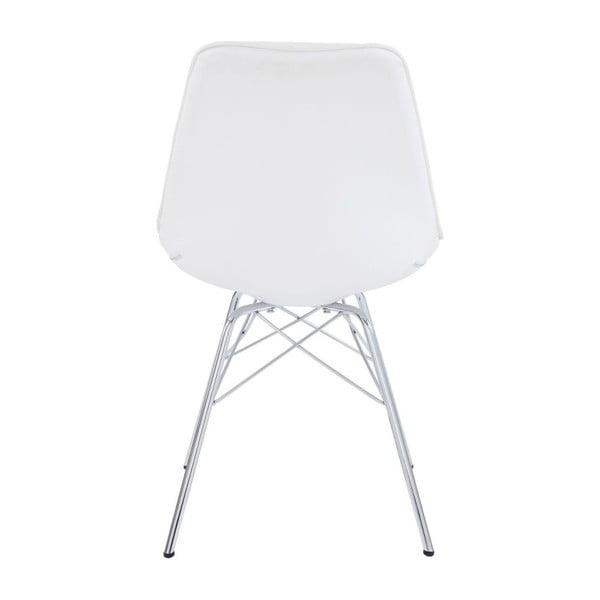 Sada 2 bielych stoličiek Støraa Shirley