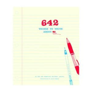 Spovedník Chronicle Books 642 Things to Write About Me