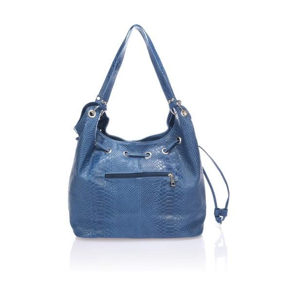 Kožená kabelka Divisa, modrá