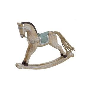 Dekoratívny vianočný drevený húpací kôň Ego Dekor Horse Small