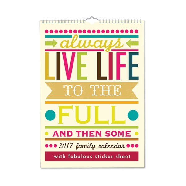 Rodinný kalendár Portico Designs Say So