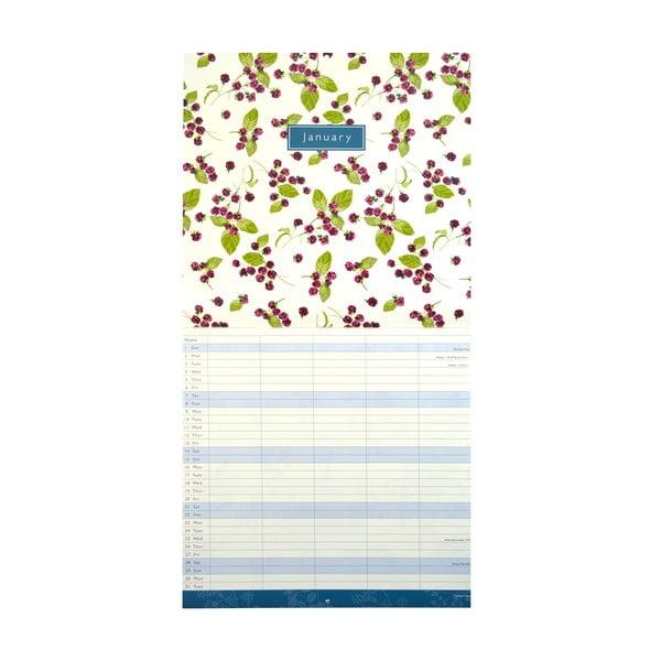 Rodinný kalendár Portico Designs Laura Ashley
