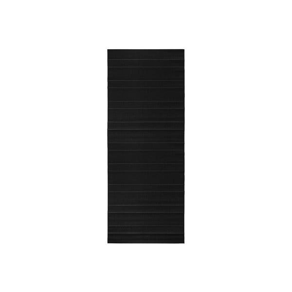 Koberec vhodný do exteriéru Sunshine 80x200 cm, čierny