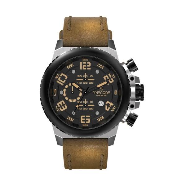 Pánske hodinky Everest 1953, Metallic/Brown/Black