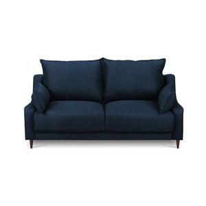 Modrá dvojmiestna pohovka Mazzini Sofas Ancolie
