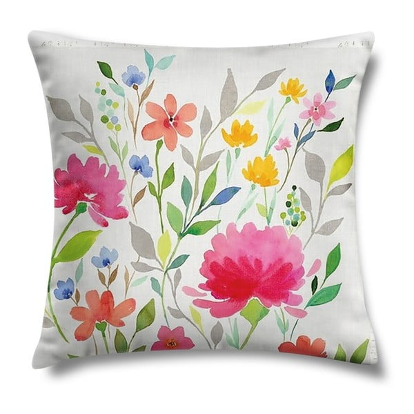 Vankúš Beautiful Flowers, 43x43 cm