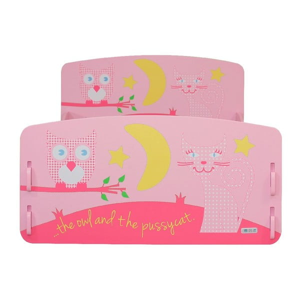 Detská posteľ Owl Junior, 147x80x60 cm