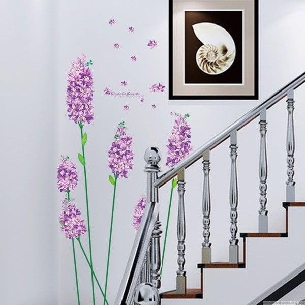 Sada samolepiek Ambiance Romantic Iris Flowers