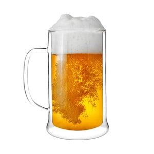 Dvojitý pohár na pivo Amo Vialli Design, 500 ml
