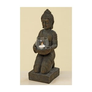 Sivý svietnik Boltze Buddha