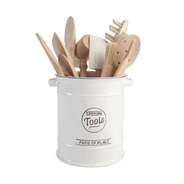 Biela keramická dóza na kuchynské náradie T&G Woodware Pride of Place