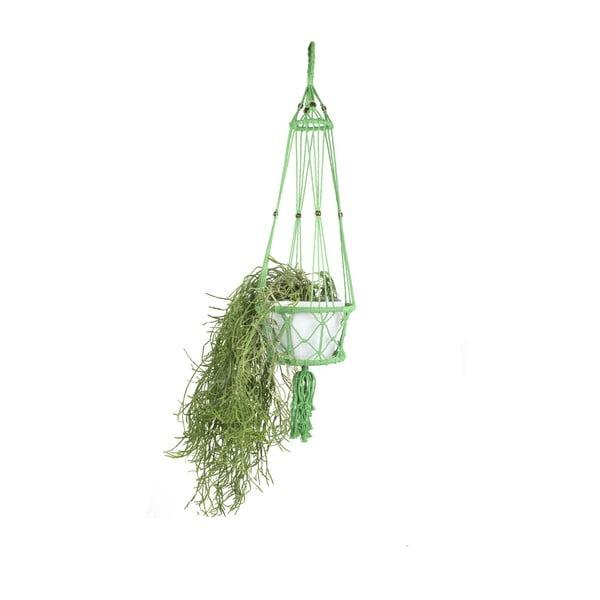 Závesný držiak na kvetináč Macrame Verde, 25 cm